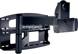 PLA-50 Articulating Swivel Wall Mount (Black) w/ screen adapter plate