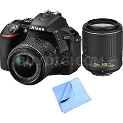 Refurbished D5500 24.2MP DSLR with 18-55mm and 55-200mm VR II Lenses