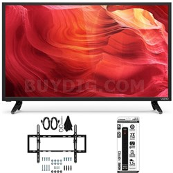 E48u-D0 - 48-Inch SmartCast Full-Array UHD Home Theater TV w/ Tilt Mount Bundle