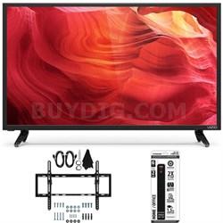 E48u-D0 - 48-Inch SmartCast Full-Array UHD Home Theater TV w/ Tilt Mount Bundle