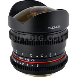 8mm T3.8 Ultra Wide Fisheye Lens for Sony E-Mount - OPEN BOX