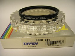 67mm 81C Color Conversion Glass Filter