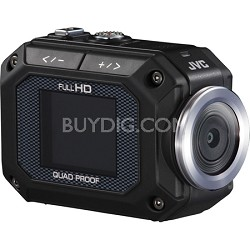 ADIXXION 1080P Action Camcorder w/ Built-in WiFi and LCD Screen - OPEN BOX