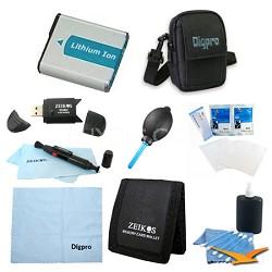 Loaded Value NP-BN1 Battery Kit for Sony DSC-W650, W610, WX50, TX20, WX150