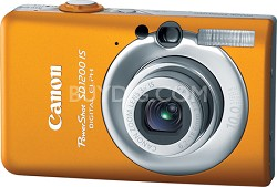Powershot SD1200 IS 10MP Digital ELPH Camera (Orange)