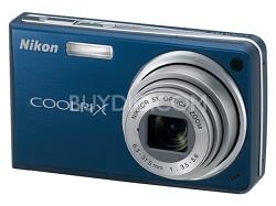 Coolpix S550 10MP 5x Zoom Digital Camera (Cool Blue)