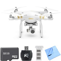 Phantom 3 4K Quadcopter Drone w/4K Camera All Inclusive Bundle With 2nd Batttery