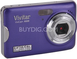 ViviCam X029 10.1 MP HD Digital Camera (Grape)