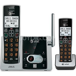 CL82213 DECT 6.0 2 Handset Cordless Answering System with Caller ID/Call waiting
