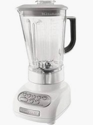 Polycarbonate Pitcher 5-Speed 0.9hp Stand Blender - White