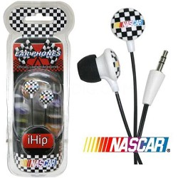 RCF10265CHKR 24/72 NASCAR CHECKERBOARD EARBUDS