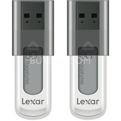 8 GB JumpDrive High Speed USB Flash Drive (Black) 2-Pack (16 GB Total)