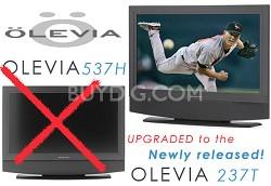 """237T -37"""" HD integrated LCD Television (30 watt speaker system)"""