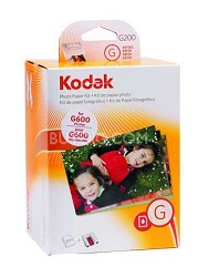 200-pack Color Cartridge/Photo Paper Kit for G-series Printer Docks