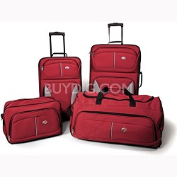 BuyDig - American Tourister Fieldbrook 4 Piece Luggage Set - $49.95