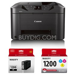 MAXIFY MB5020 Wireless Small Office All-In-One Printer + Bonus Ink Value Bundle