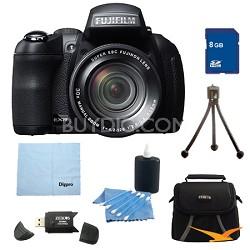FinePix HS30EXR 16MP BSI EXR CMOS Digital Camera 8 GB Bundle