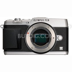 PEN E-P5 16MP Compact System Camera (Silver)(Body Only)
