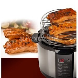 Electric 5Qt Pressure Smoker/Cooker