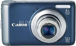 PowerShot A3100IS 12MP Digital Camera (Blue) Refurbished
