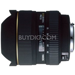 Ultra Wide Angle 12-24mm f/4.5-5.6 EX DG AF Canon Lens (Factory Refurbished)