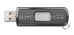Cruzer Micro 8GB USB Flash Drive {Black}