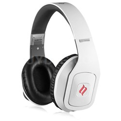 Hammo Over Ear Stereo Hi-Fi Stereo Headphones (White) - OPEN BOX