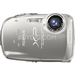 FINEPIX XP10 12 MP Digital Camera (Silver)