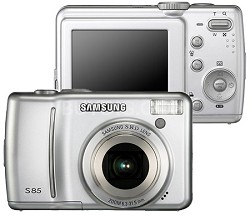Digimax S85 8.2 MP Digital Camera (Silver)