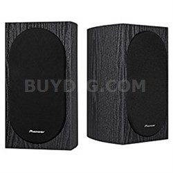 "Andrew Jones Designed 4"" Compact 2-Way Bookshelf Speakers (Pair) - SP-BS22-LR"