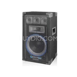 "VRTX10 10"" Five way Carpeted Cabinet Speaker w/ Steel Grill"