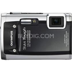 Stylus Tough 6020 Waterproof Shockproof Freezeproof Digital Camera (Black)-OPEN