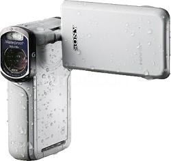 HDR-GW77V/W HD 20.4 MP Waterproof, Shockproof, Dustproof Camcorder (White)