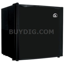 1.6 Cubic Foot Compact Mini Bar Office Dorm Refrigerator Freezer Black - FR100I