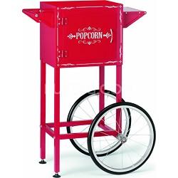 Popcorn Maker Trolley, Red