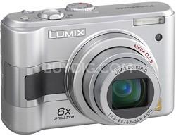 DMC-LZ3S (Silver) Lumix 5-Megapixel Digital Camera - OPEN BOX