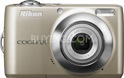 COOLPIX L22 Digital Camera (Champagne Silver)
