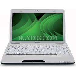 "Satellite 13.3"" L635-S3100WH Notebook PC - White Intel Pentium P6200 Processor"
