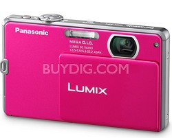 DMC-FP1P LUMIX 12.1 MP Digital Camera (Pink) - Refurbished
