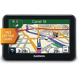 50LM 5 inch Touchscreen GPS Navigation System with Lifetime Map Updates