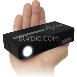 P4 Pico Pocket Projector w/ 80Lumens LED, Windows CE, Rechargable Battery, DLP