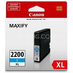 MAXIFY PGI-2200 XL Cyan Pigment Ink Tank