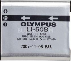 Li-50B Li-ion battery for Stylus Tough 6010, 6000, 8010, 8000, SP-800UZ