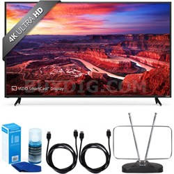 "E60-E3 SmartCast 60"" UHD Home Theater Display TV w/ FM Antenna Accessory Bundle"