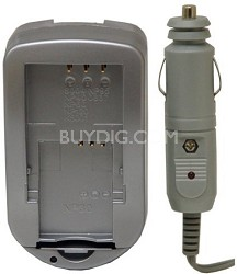 Digital Concepts AC/DC Battery Charger for Nikon Lithium Batteries