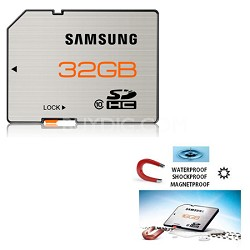 SDHC High Speed 32GB Class 10 Waterproof and Shockproof Memory Card