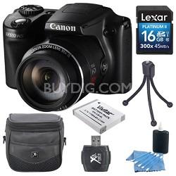 PowerShot SX510 HS 12.1 MP Digital Camera 16GB Bundle