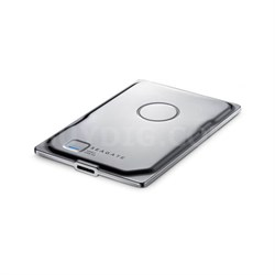 Seven Ultra Slim 500GB Portable External Hard Drive (Silver) STDZ500400