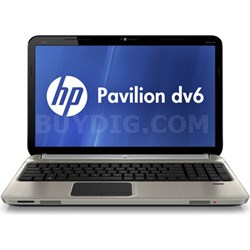 "Pavilion 15.6"" DV6-6C16NR Notebook - Intel Core i7-2670QM - OPEN BOX"