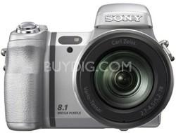 Cyber-shot DSC-H7 8.1-megapixel Digital Camera w/ 15x Optical Zoom (Silver)